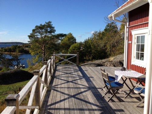 Sandhamn Ferienhaus
