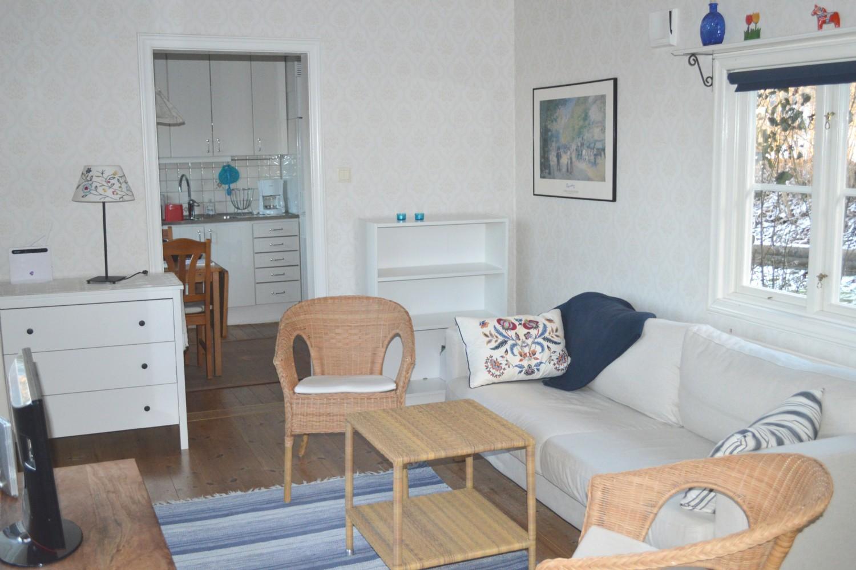 Vacation house / appartment: grindstugan fruvik, värmdö, mellersta ...