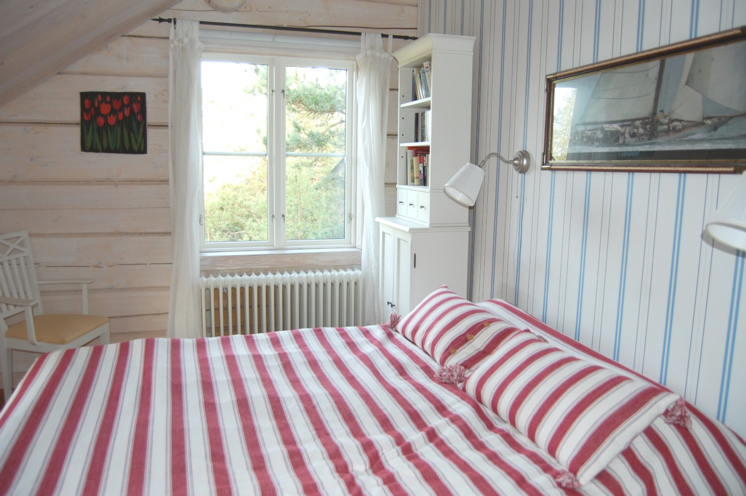 Sovrum 3 ö.v/ Bed room 3 upper floor